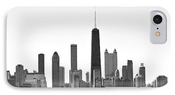 Chicago Skyline No. 1-1 IPhone 7 Case