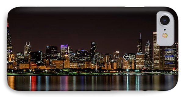 Chicago Skyline IPhone Case by Andrea Silies