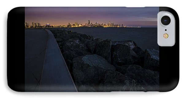 Chicago Skyline At Dawn From The South Side IPhone Case