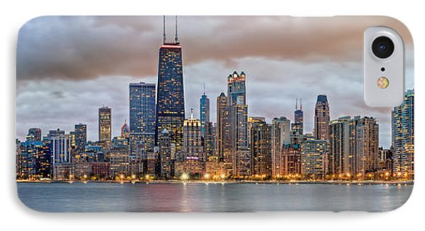Chicago Skyline At Dusk IPhone Case by James Udall