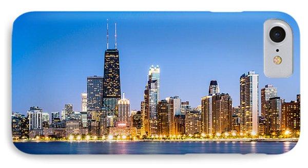 Chicago Skyline At Twilight Phone Case by Paul Velgos