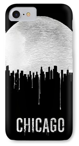 Chicago Skyline Black IPhone Case