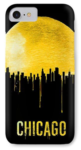 Chicago Skyline Yellow IPhone Case