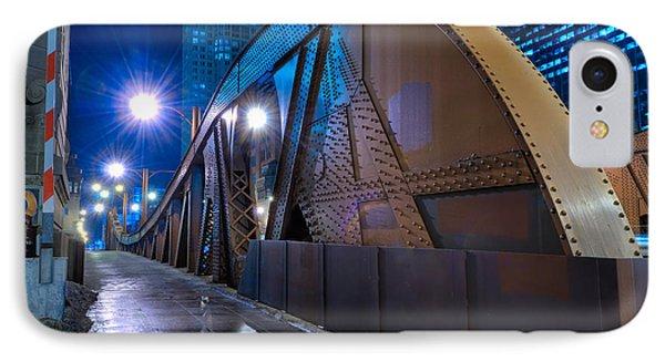 Chicago Steel Bridge Phone Case by Steve Gadomski