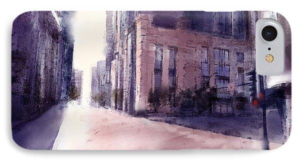 Chicago Street IPhone Case by Bekim Art