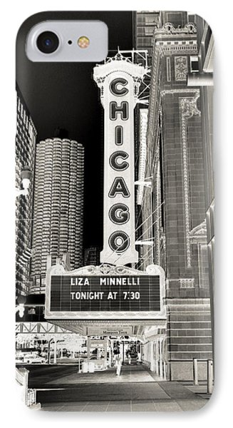 Chicago Theater - 2 IPhone Case by Ely Arsha