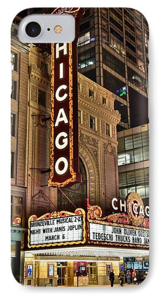 Chicago Theater Alight IPhone Case