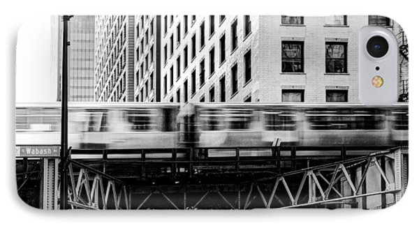 Chicago Transit IPhone Case by Anthony Citro