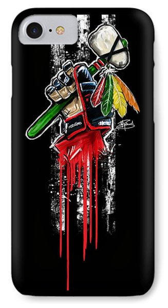 Warrior Glove Origins Phone Case by Michael Figueroa