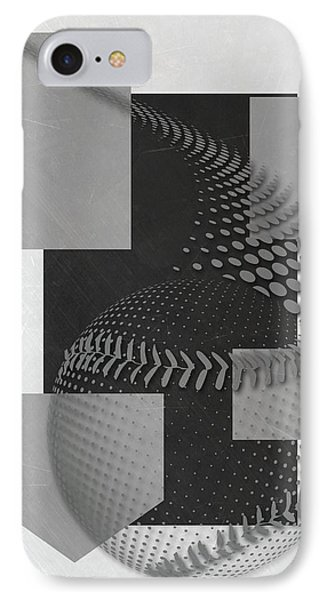 Chicago White Sox Art IPhone Case by Joe Hamilton