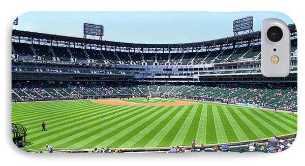 Chicago White Sox Center Field View IPhone Case by Thomas Woolworth
