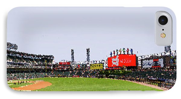 Chicago White Sox Seating Panorama 03 Pa 01 IPhone Case by Thomas Woolworth