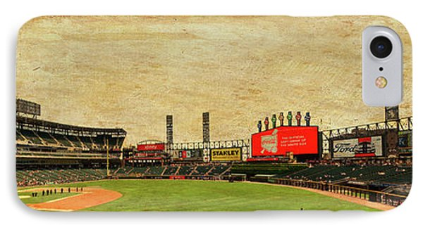 Chicago White Sox Seating Panorama 03 Textured IPhone Case by Thomas Woolworth