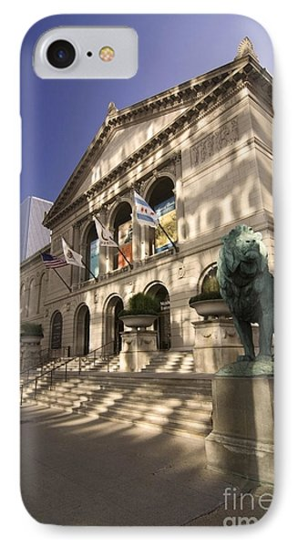 Chicago's Art Institute In Reflected Light. IPhone 7 Case by Sven Brogren