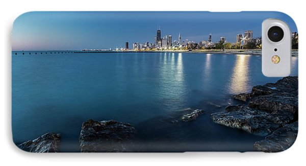 Chicago's Lakefront And Skyline At Dawn  IPhone Case