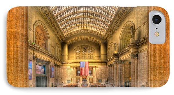 Chicagos Union Station Phone Case by Steve Gadomski