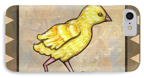 Chick Four Phone Case by Linda Mears