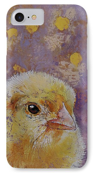 Chick IPhone 7 Case by Michael Creese