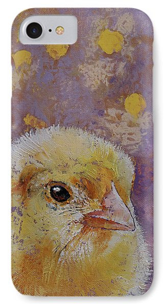 Chick IPhone Case by Michael Creese