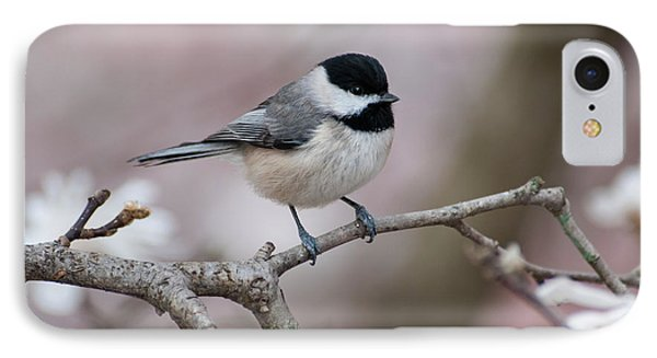 IPhone Case featuring the photograph Chickadee - D010026 by Daniel Dempster