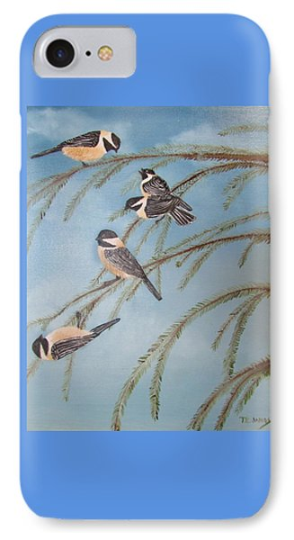 Chickadee Party IPhone Case
