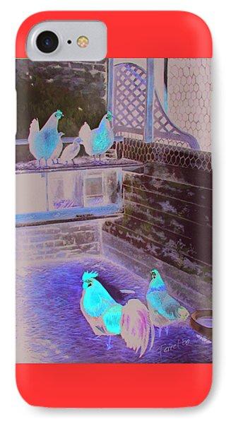 Chicken Coop IPhone Case by Ferrel Cordle