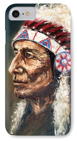 Chief IPhone Case by Arturas Slapsys