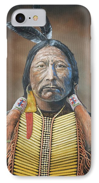Chief Buckskin Charley Phone Case by Jerry McElroy