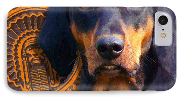 IPhone Case featuring the painting Chief by Doug Kreuger
