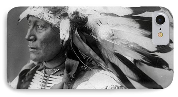 Chief Hollow Horn Bear IPhone Case by Frank Rinehart