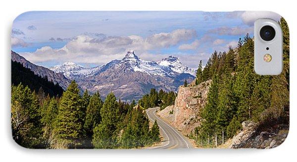 Chief Joseph Scenic Highway IPhone Case
