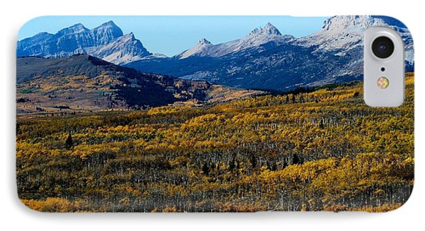 Chief Mountain In The Fall IPhone Case