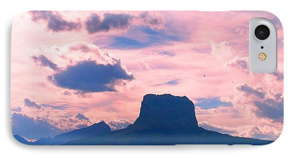 Chief Mountain, Pastel IPhone Case