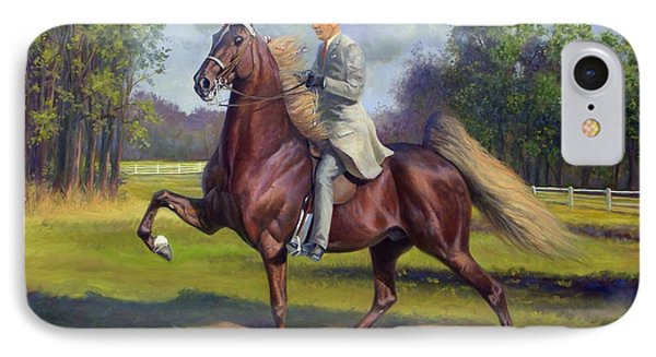 Chief Of Spindletop IPhone Case by Jeanne Newton Schoborg