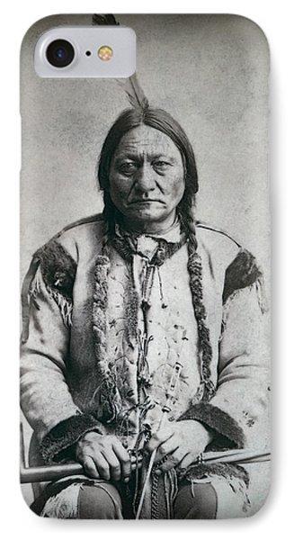 Chief Sitting Bull 1884 IPhone Case