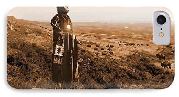 Chief Wolf Robe IPhone Case