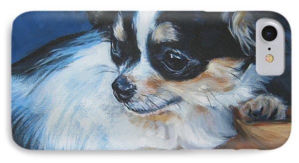 Chihuahua Phone Case by Lee Ann Shepard