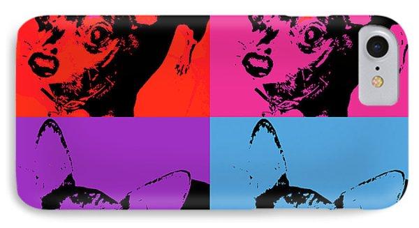 Chihuahua Pop Art IPhone Case