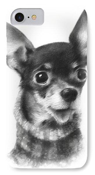 Chihuahua Pup IPhone Case by Natasha Denger