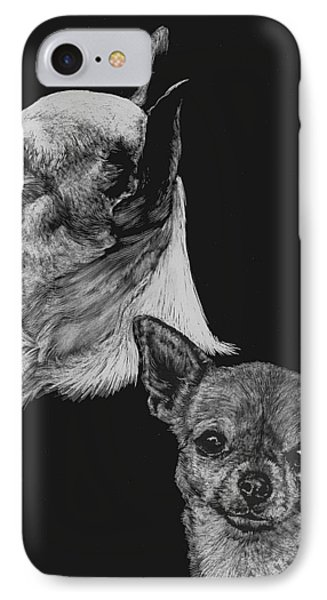 Chihuahua IPhone Case by Rachel Hames