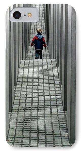 Child In Berlin IPhone Case by KG Thienemann