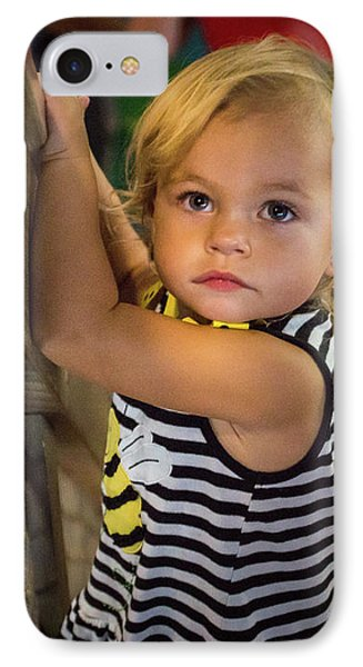 IPhone 7 Case featuring the photograph Child In The Light by Bill Pevlor