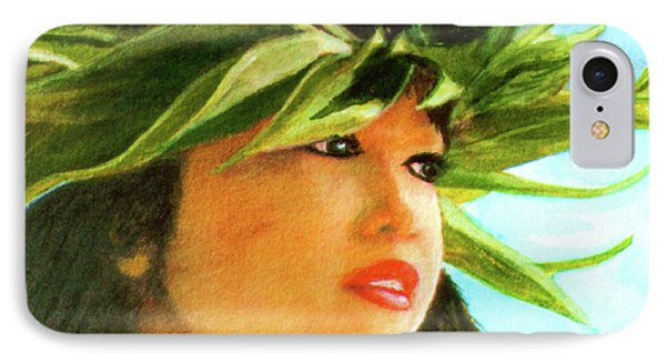 Child Keiki In Hawaiian No# 84 Phone Case by Donald k Hall