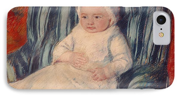 Child On A Sofa IPhone Case