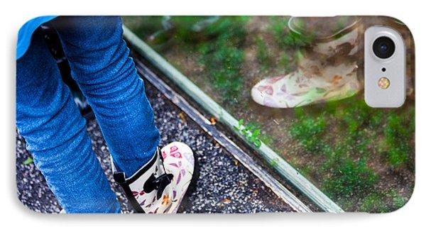 Child Reflection IPhone Case