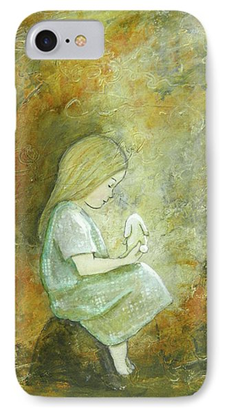 Childhood Wishes IPhone Case by Terry Honstead