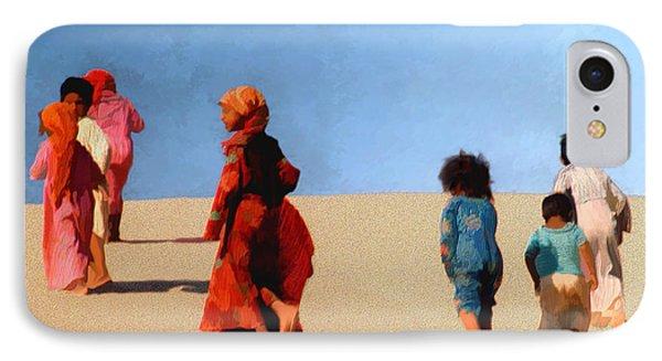 Children Of The Sinai Phone Case by Kurt Van Wagner