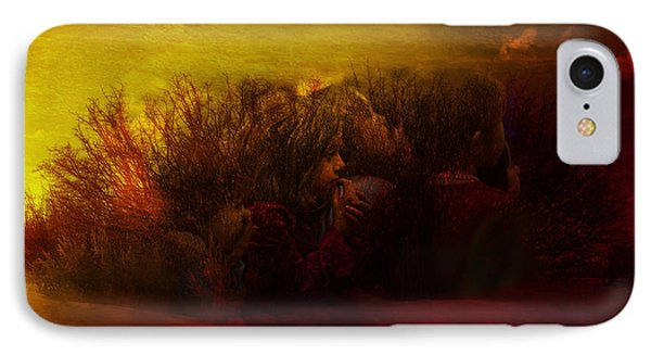 Children Of The Spirit IPhone Case by Mark Courage