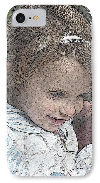 Children Series Phone Case by Ginger Geftakys