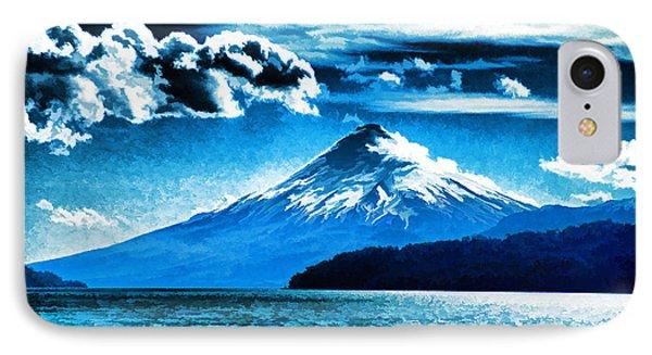 Chilean Volcano Phone Case by Dennis Cox